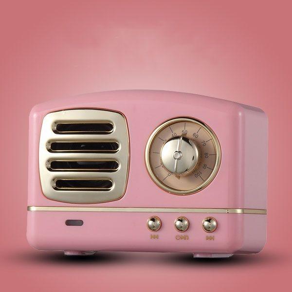 product image for Retro Radio Bluetooth Speaker