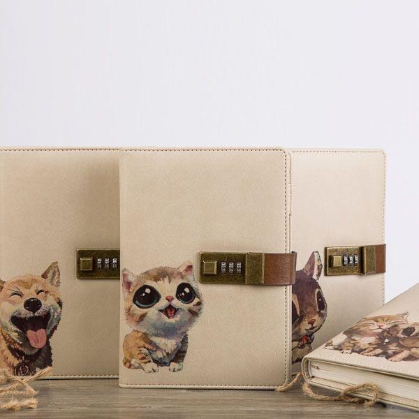 Cute Critter Writing Journal