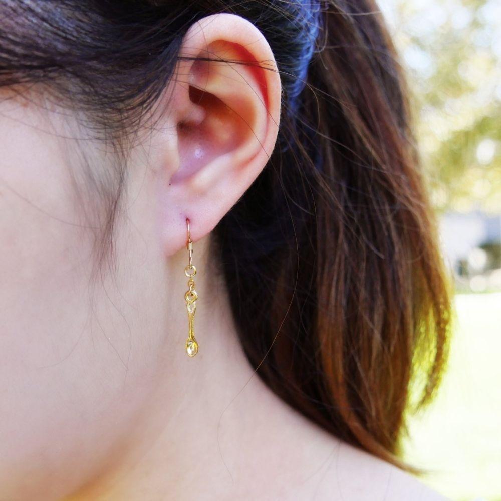 Cute Utensil Earrings Handmade With Love