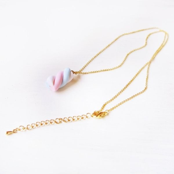 product image for Kawaii Marshmallow Necklace