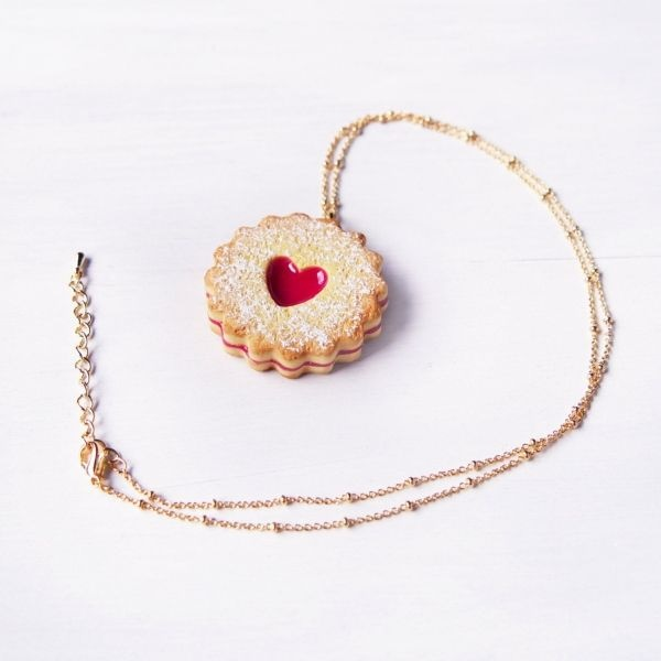 product image for Cute Jam Cookie Necklace