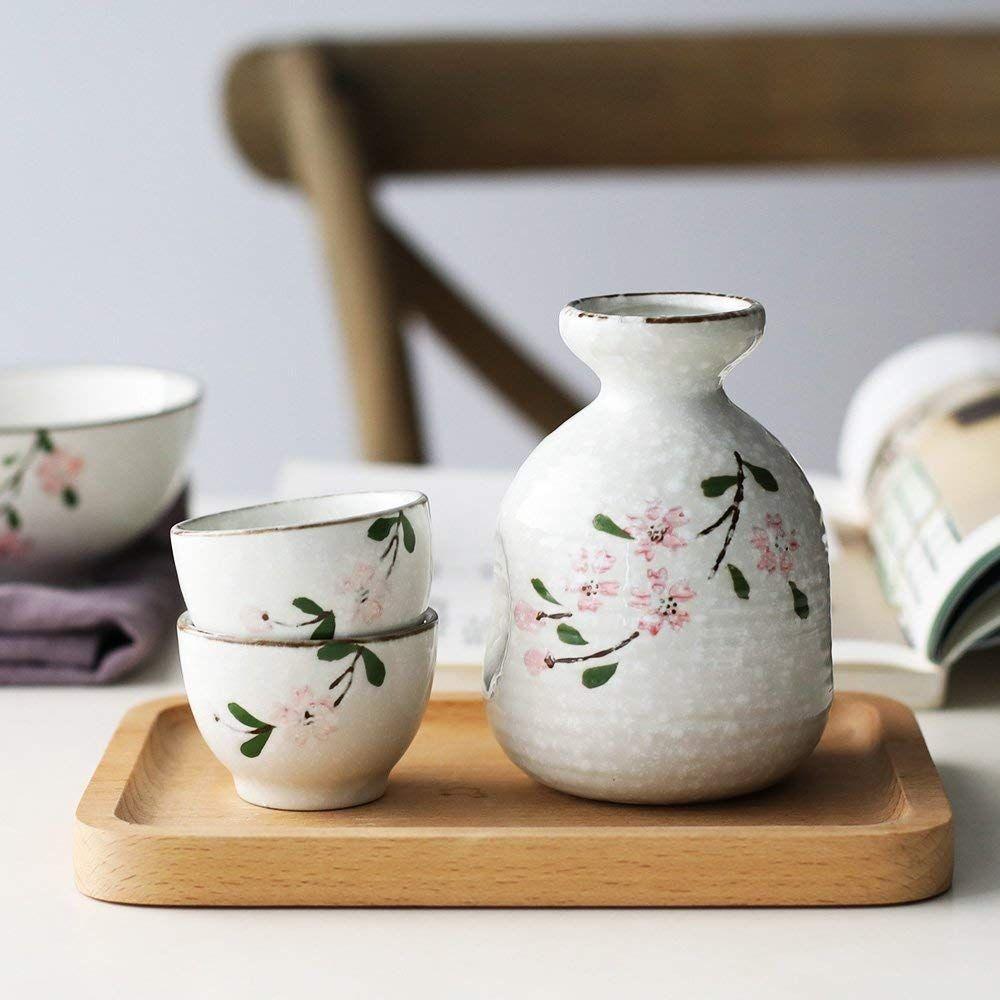 Japanese Ceramic Sake Set