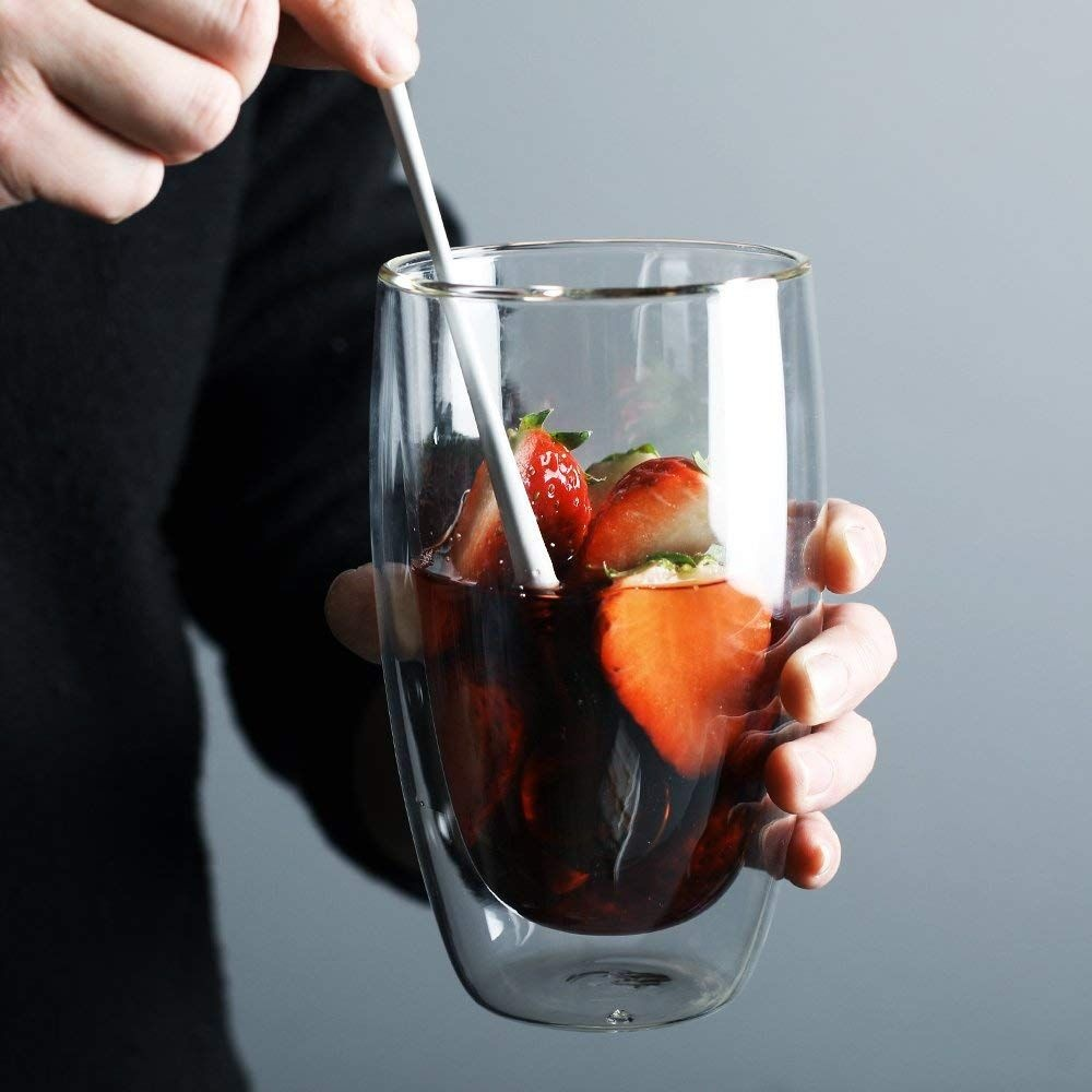 Double Wall Drinking Glass
