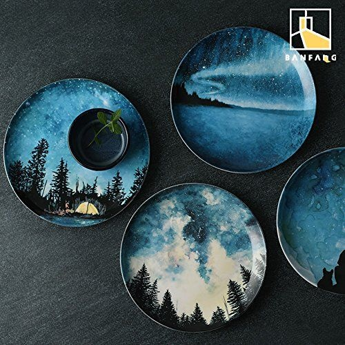 starry-sky-porcelain-plates
