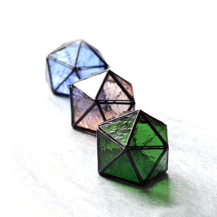 product image for Mini Stained Glass Terrarium