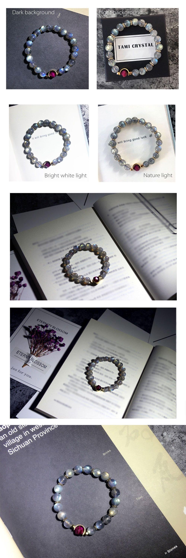 Moonstone Bracelet Natural Gemstone