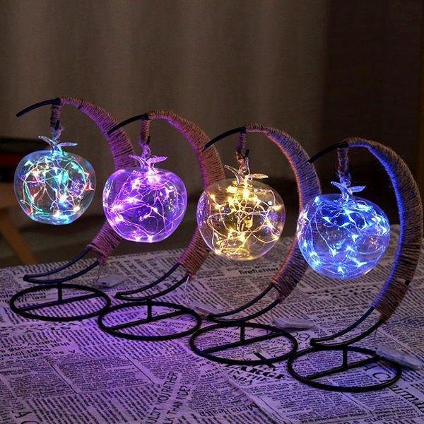 Crescent Moon Fairy Light Lantern Apollobox