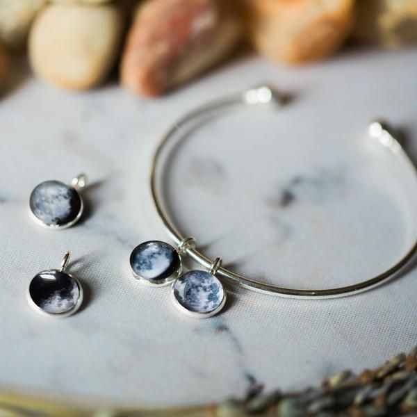 product thumbnail image for Custom Charm Bracelet with Multiple Birth Moons