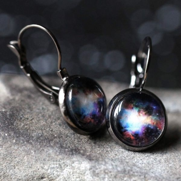 Galaxy Outer Space Earrings