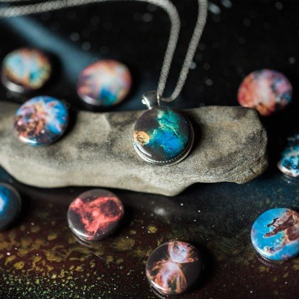 Interchangeable Nebula Necklace