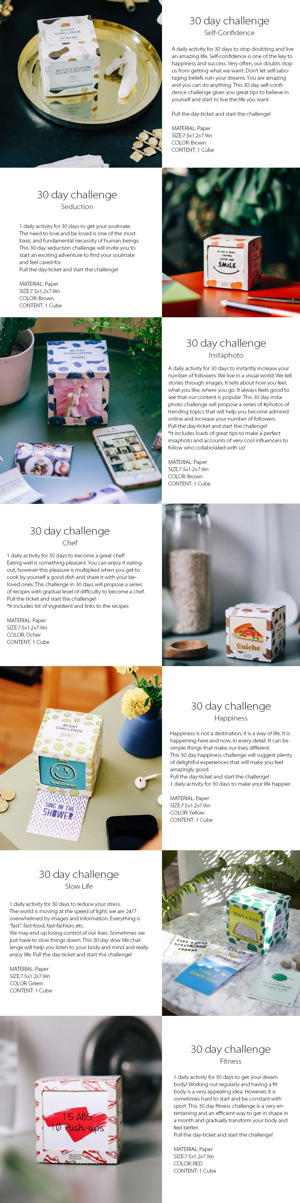 30 Day Challenge A Fun Self Challenge