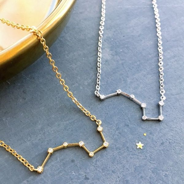 Callisto: Ursa Major Constellation Necklace