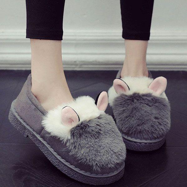 Bunny Ears Slippers