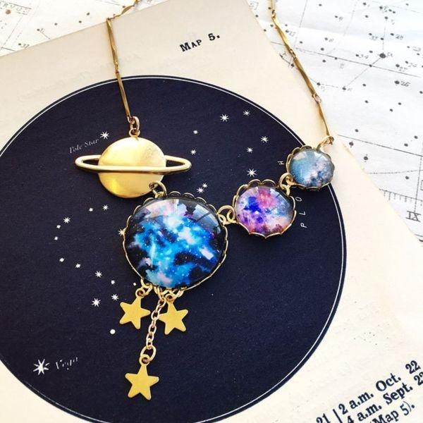Many Worlds Multiverse Necklace
