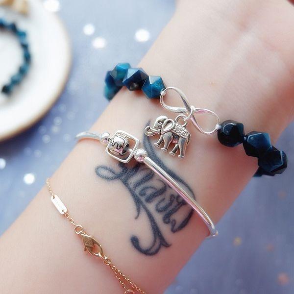 product image for Blue Tiger Eye Crystal Bracelet