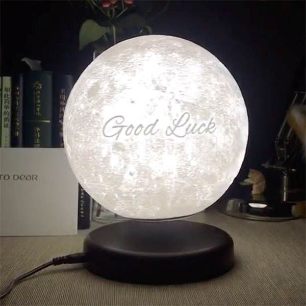 Leviluna - Personalized Levitating Moon Lamp