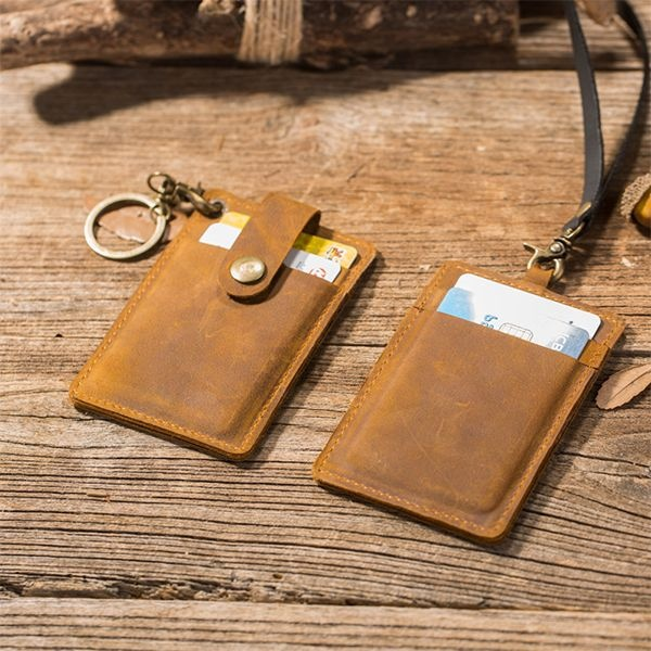 Leather ID Badge Holder/Wallet