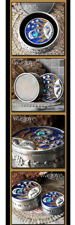 Retro Princess Jewelry Box