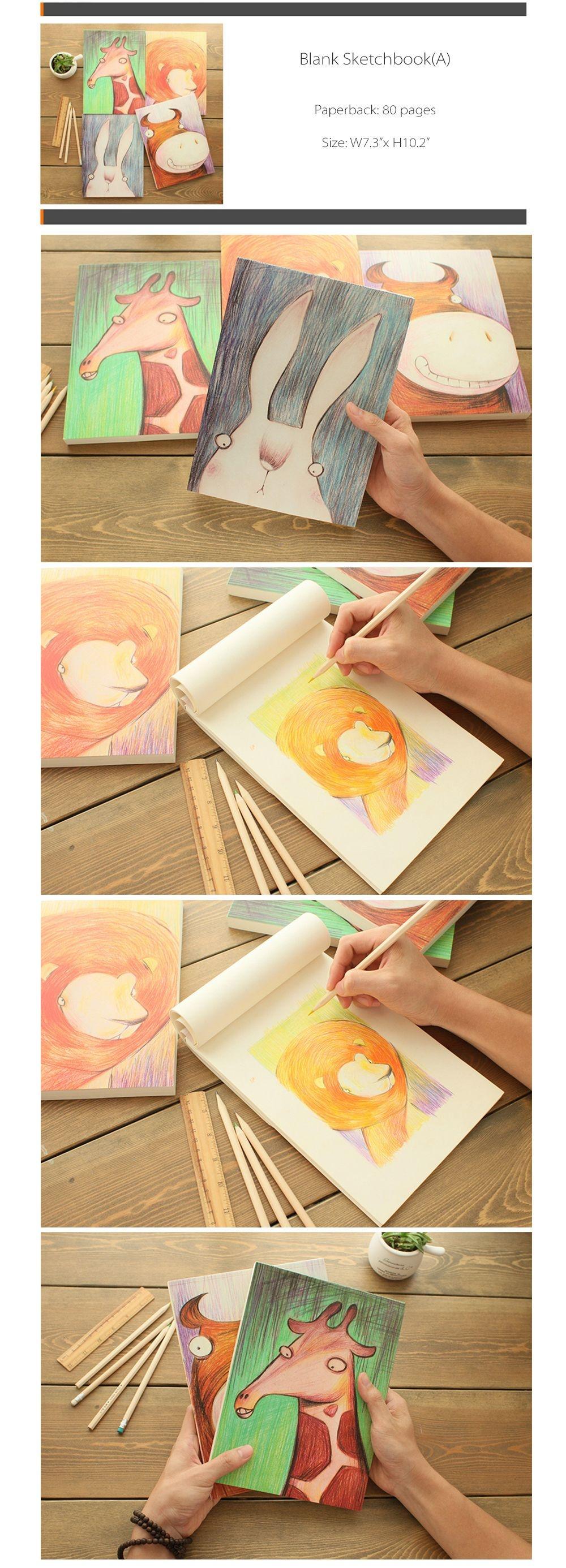 Creative Sketch Book Unique Design