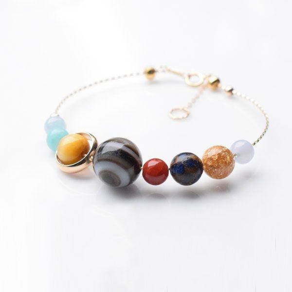 Eight Planets Gemstone Bracelet