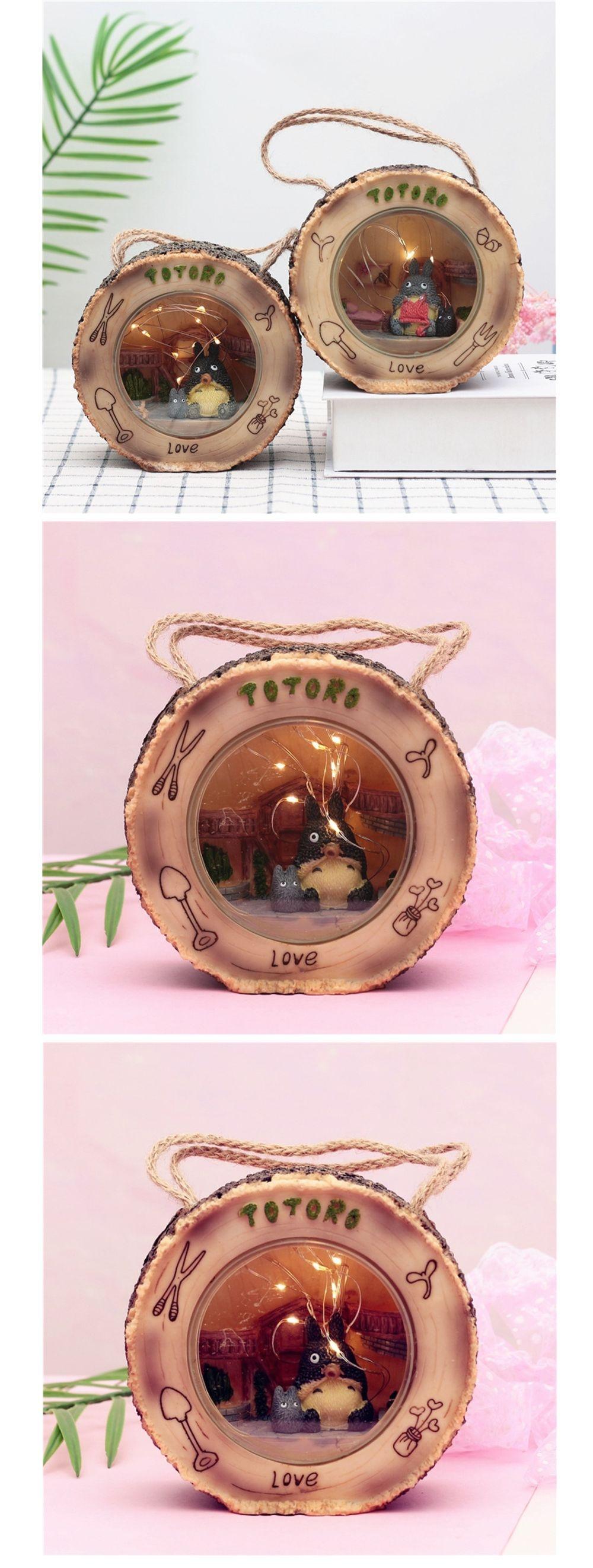 Totoro Light Ornament Creative Home Decor