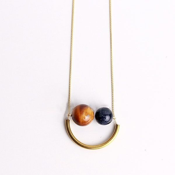product image for Smiling Planets Necklace