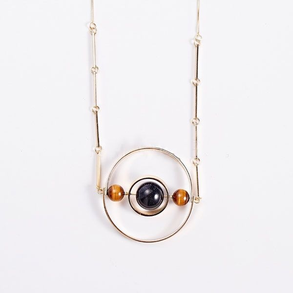 Galactic Orbits Necklace